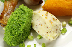 Mashed Peas And Potato Royalty Free Stock Photo