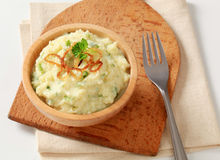 Mashed potato Royalty Free Stock Photo