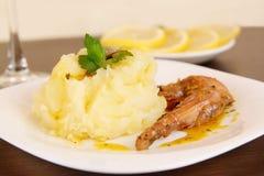 Mashed potato Royalty Free Stock Images