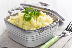 Mashed potato Stock Photos