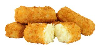 Mashed Potato Croquettes Royalty Free Stock Images