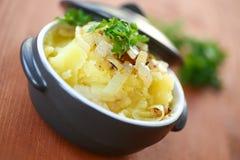 Mashed potato royalty free stock photos