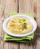 Mashed potatoes Royalty Free Stock Photography