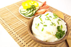 Mashed potatoes Royalty Free Stock Photography