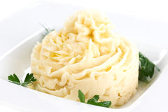 Mashed potatoes Royalty Free Stock Photo