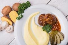 Mashed Potatoes Stock Images