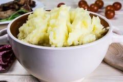 Mashed potatoes Royalty Free Stock Photos