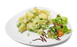 Mashed potatoes. Royalty Free Stock Photo