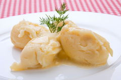 Mashed potatoes Stock Images