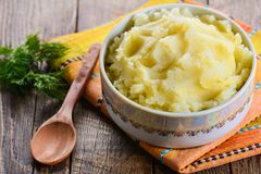 Mashed potatoes Stock Photos