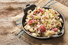 Mashed red potatoes Royalty Free Stock Image