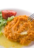 Mashed Sweet Potato royalty free stock image