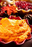 Mashed Sweet Potatoes Royalty Free Stock Photography