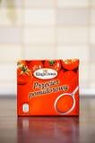 Mashed tomatoes Stock Photos