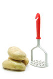 masher πατάτα Στοκ Εικόνες