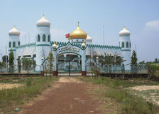 The Mashid Nourul Ehsaan Mosque in South Vietnam. Royalty Free Stock Photography