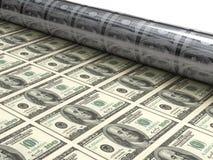 Mashine λογαριασμών δολαρίων Στοκ φωτογραφία με δικαίωμα ελεύθερης χρήσης