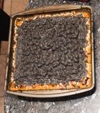 Mashmallow queimado Fotos de Stock