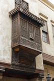 Mashrabiya , is the Arabic term given to a type of oriel window Royalty Free Stock Photography