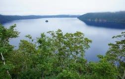 湖Mashu 库存照片