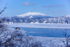 Mashu lake, Hokaido, Japan Royalty Free Stock Photography