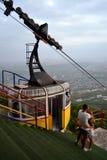 Mashuk mountain cableway. Pyatigorsk, Russia royalty free stock photos