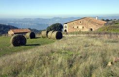 Masia in Catalonië, Spanje royalty-vrije stock afbeeldingen