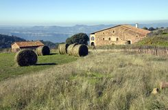 Masia in Catalonia, Spain Royalty Free Stock Images