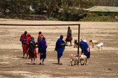 Masia workers. Masai life, masai workers in arusha tanzania stock images
