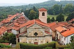 Masino城堡在意大利 免版税库存图片
