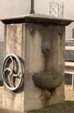Masino na província de Turin, Itália Imagens de Stock