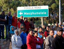 Masiphumelele Township,Cape Town,South Africa Stock Photo