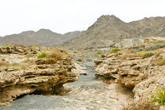 Masirah island landscape Stock Photo