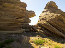 Masirah island landscape Royalty Free Stock Image