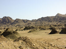 Masirah island landscape Stock Image