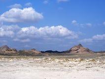 Masirah Island. Southern tip of Masirah Island, Oman Royalty Free Stock Photography