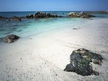 Masirah Island. Southern tip of Masirah Island, Oman Stock Photography