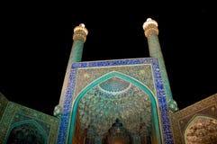 Masjed-e Jāmé of Isfahan by night Stock Photo