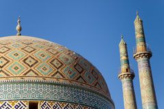 Masjed-i Jame' Mosque in Yazd, Iran Royalty Free Stock Images