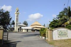 Masjid关丹的,马来西亚丹戎Api 库存照片
