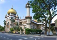 masjid清真寺新加坡苏丹 免版税库存照片