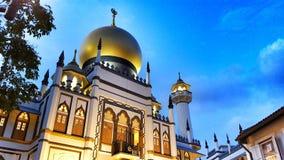 Masjid苏丹 免版税库存图片