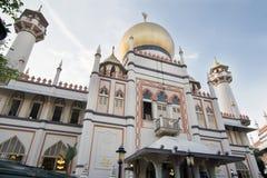 masjid σουλτάνος Σινγκαπούρης μουσουλμανικών τεμενών Στοκ εικόνα με δικαίωμα ελεύθερης χρήσης