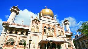 masjid σουλτάνος Σινγκαπούρη Στοκ Εικόνα