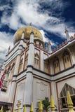masjid σουλτάνος Σινγκαπούρης μουσουλμανικών τεμενών Στοκ φωτογραφία με δικαίωμα ελεύθερης χρήσης