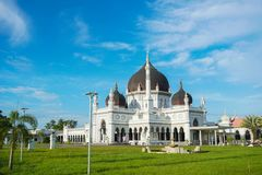 Masjid Захир в городе Alor Setar, Малайзии Стоковая Фотография RF