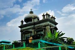 Masjid赴麦加朝圣过的伊斯兰教徒穆罕默德Salleh Dayview  免版税图库摄影