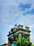 Masjid赴麦加朝圣过的伊斯兰教徒穆罕默德Salleh Dayview  免版税库存照片