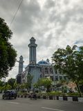 Masjid Agung на-Taqwa городе Balikpapan мечети Стоковая Фотография RF