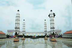 Masjid Agung Jawa Tengah, Ινδονησία Στοκ Εικόνες